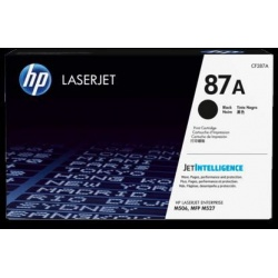 HP 87A Black LaserJet Toner Cartridge